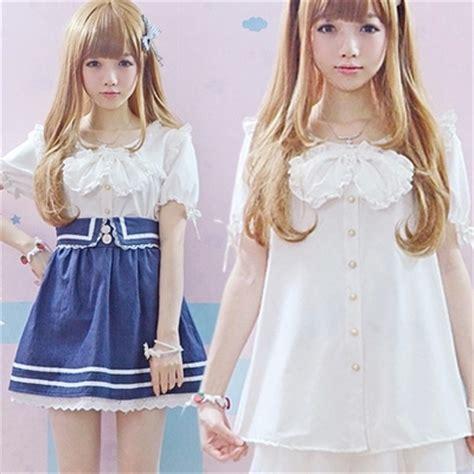 imagenes de blusas kawaii aliexpress com buy japan kawaii blouse high quality