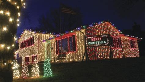 griswold house lights up the night local news