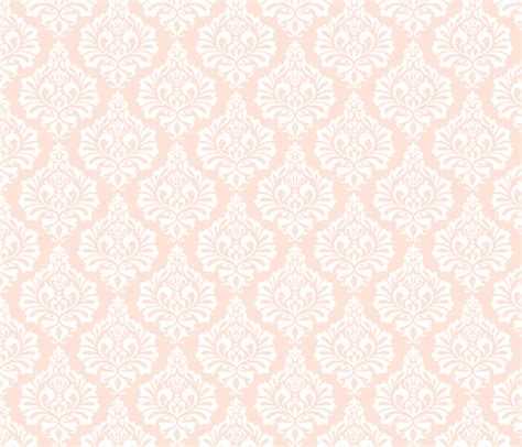 Wedding Bell Fabric by Wedding Bells Damask Blush Fabric Nadiahassan Spoonflower