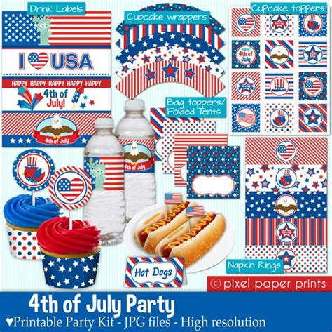 4th of july templates 4th of july printable templates mygrafico