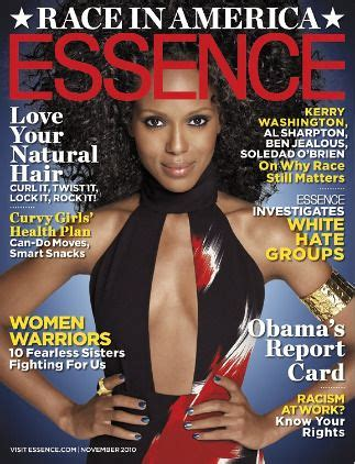 6 Beautiful On 6 April 2010 Magazine Covers by Kerry Washington On The November Cover Of Kerry