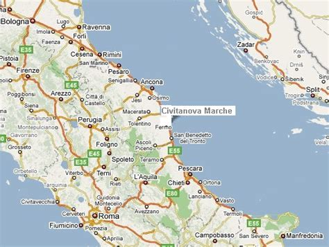delle marche civitanova marche civitanova marche mappa images