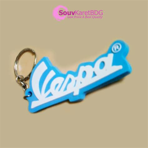 Kunci Vespa gantungan kunci karet vespa gantungan kunci karet bandung
