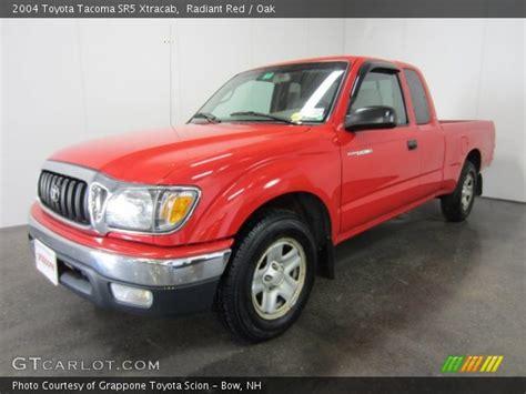2004 Toyota Tacoma Sr5 Radiant 2004 Toyota Tacoma Sr5 Xtracab Oak