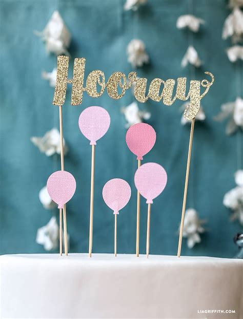 Birthday Cake Toppers by Best 25 Banner Cake Toppers Ideas On Diy Cake