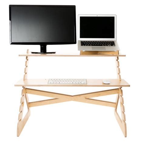Simple Standing Desk sleek simple standing desks agency addicts
