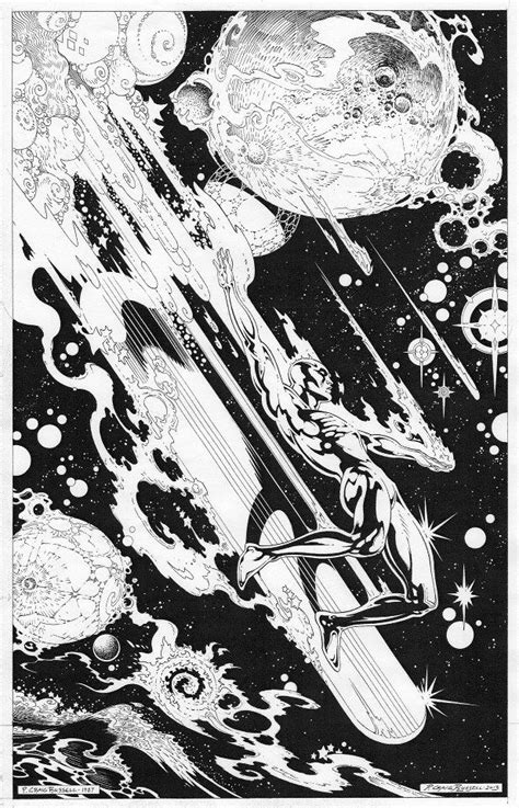 Silver Surfer by P. Craig Russell (With images) | Silver