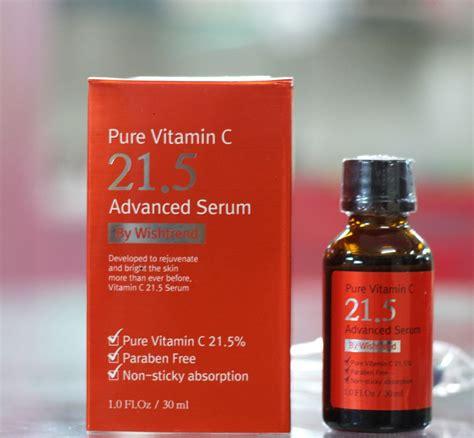 Serum Vitamin C La Tulipe serum thần th 225 nh trị mụn th 226 m trắng da vitamin c 21 5