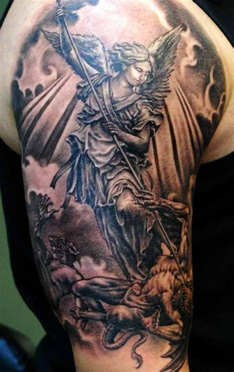 good vs evil tattoos 22 best and evil tattoos images on evil