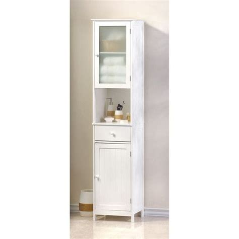 white bathroom linen cabinet 70 9 quot tall white bathroom linen closet cabinet storage