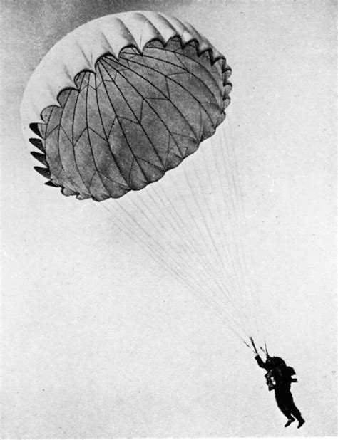 parachutes for sweet landings this is a picture from a