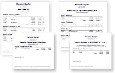 certificado de ingresos y retenciones 2015 word certificados ingresos y retenciones 2015