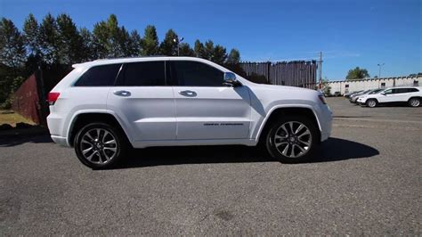 jeep white 2017 2017 jeep grand overland bright white clearcoat