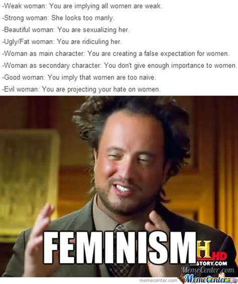 feminism and fiction feminism know your meme