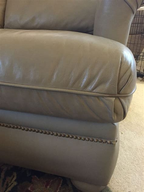 Diy Sleeper Sofa by Sloan Chalk Paint Leather Re Do This Sleeper