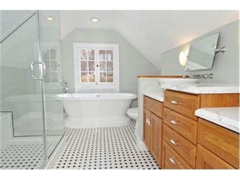 Bathroom Ideas Kerry Way To Fit A Bathroom In With Our Slanted Ceiling Attic
