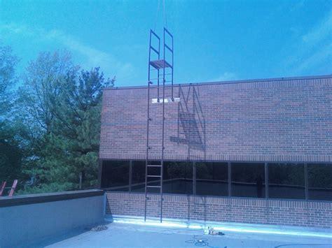 installation   parapet crossover fixed ladder  mezz blog