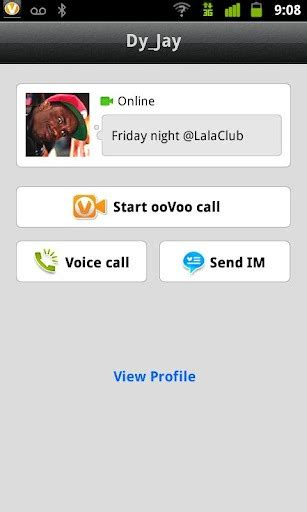 oovoo for android oovoo for samsung galaxy y
