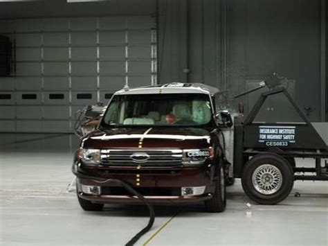 accident recorder 2010 ford flex navigation system 2009 ford flex side iihs crash test youtube