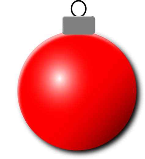 red christmas ornament clip art at clker com vector clip