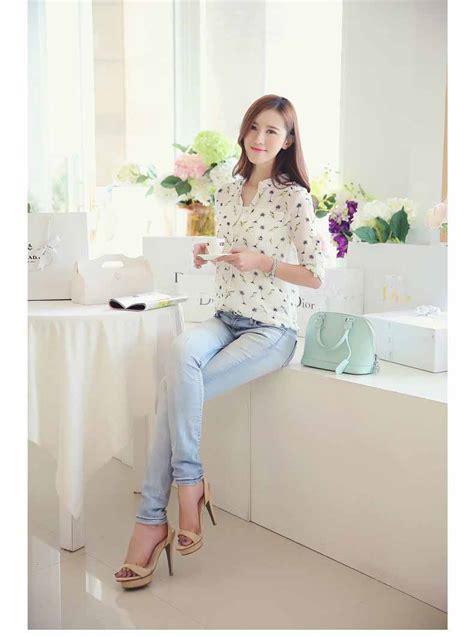 Blouse Cantik Wanita by Blouse Wanita Korea Cantik Terbaru Toko Baju Wanita