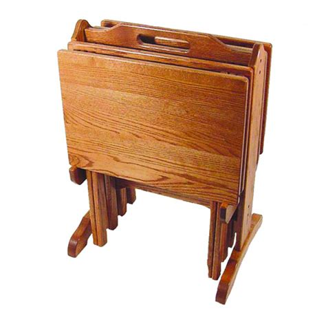 tv tray tables tv tray set amish crafted furniture