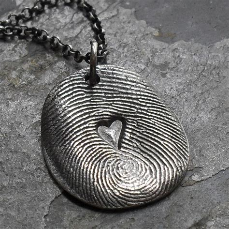 how to make fingerprint jewelry