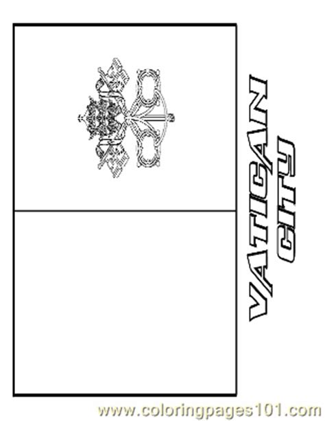 vatican city coloring page free flags coloring pages