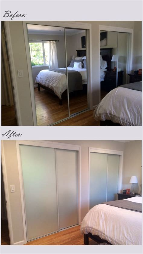 Cover Mirrored Closet Doors Best 25 Glass Closet Doors Ideas On Glass Wardrobe Doors White Sliding Door