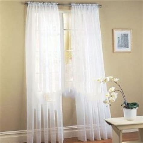 coloured voile curtains multi color net tulle voile door window curtain panel