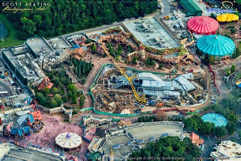 disney world welcomes new fantasyland attractions this aerial views of new fantasyland photo 1 of 4