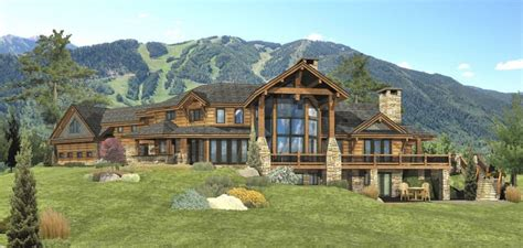 redwood falls log homes cabins and log home floor plans