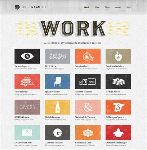 layout for portfolio website website portfolio grungy handmade style webdesign
