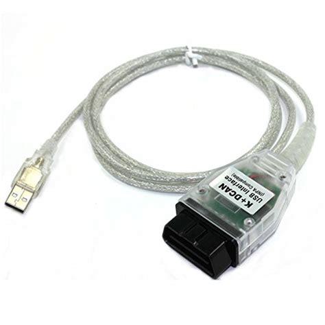 Bmw Usb Tool Scanner Obd Diagnostic Cable Inpa Ediabas Dis V57 Sss V32 for bmw inpa ediabas k dcan usb interface obdii obd2 car