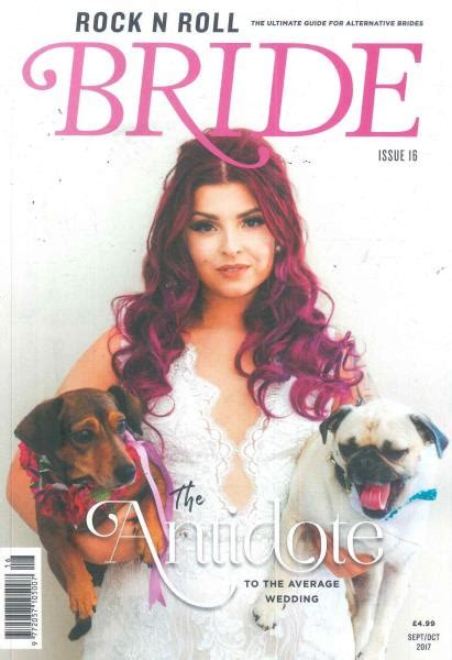 Where To Buy Bridal Magazines by Rock N Roll Brides Magazine Buy At Uniquemagazines Co Uk