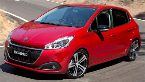 peugeot 208 red 2016 peugeot 208 gt line review road test carsguide