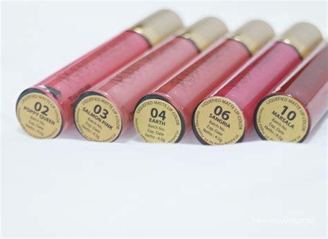 Poppy Dharsono Liquid Lip Lustre review poppy dharsono liquified matte lip color
