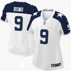 youth white tony romo 9 jersey brilliant p 1082 cowboys tony romo jersey authentic elite womens youth nfl