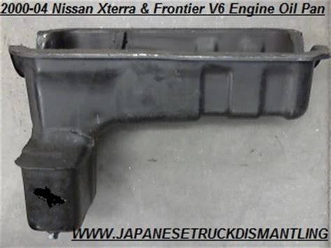 nissan xterra pan v6 3 3l engine 2000 2001 2002 2003