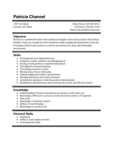 part time resume template student part time resume best resume collection