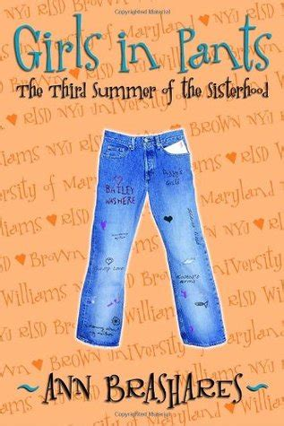 need to sisterhood books in the third summer of the sisterhood the