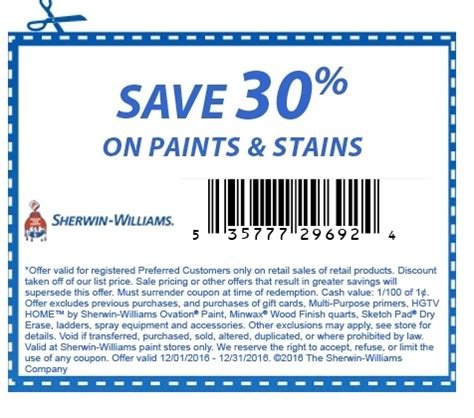 coupons for sherwin williams paint store printable coupons in store coupon codes sherwin