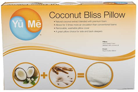 Coconut Bliss Pillow by How Important Our Sleep Is With A Giveaway Motherhood