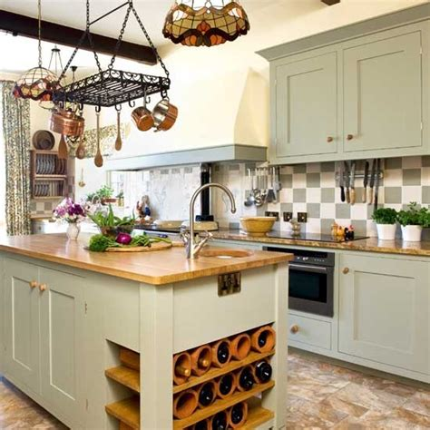 Take A Tour Around A Restful Farmhouse Kitchen Practical Kitchen Design