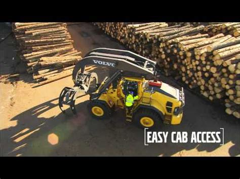 volvo construction equipment wheel loaders lh hl care cab youtube