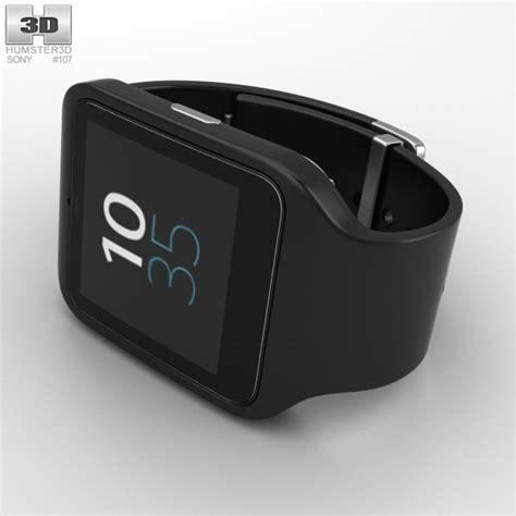 Sony Smartwatch Swr50 sony smartwatch 3 swr50 black 3d model hum3d