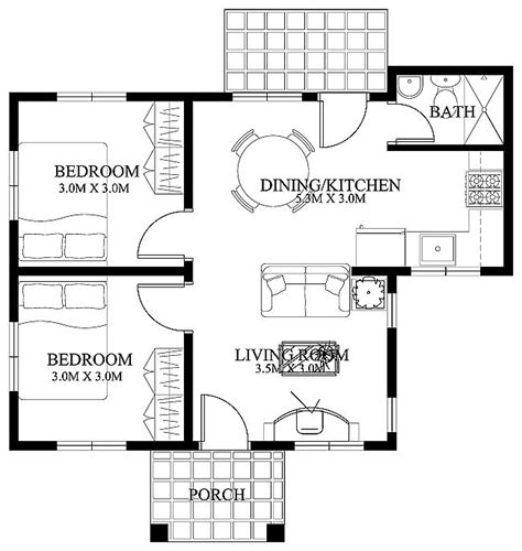 17 Best Images About Small House Designs On Pinterest Small Area House Plan Design