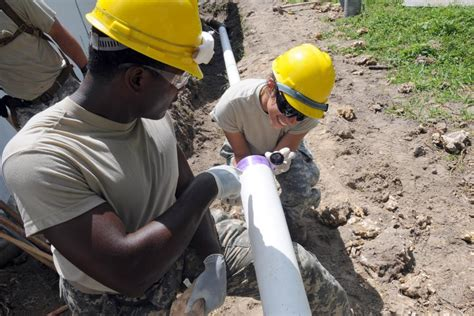 Plumbing In The Army by Dvids News Rebuilding Miami Home By Home