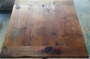 Reclaimed Wood Restaurant Tables