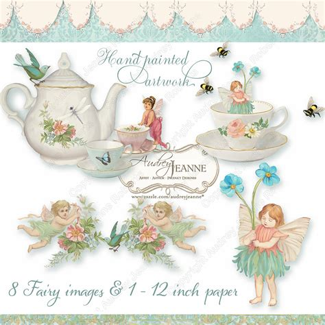 Garden Tea Party Clip Art (38 )